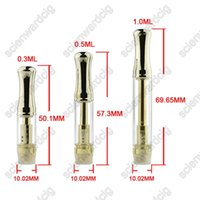 high quality golden glass cartridge o pen disposable thick o...