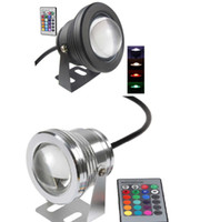 10PCS Best Waterproof 10w Led Underwater Light 16 Color Chan...