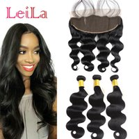 Ear To Ear 13X4 Lace Frontal Closure With 3 Bundles Malaysia...