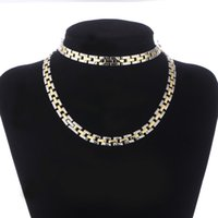 Factory price top quality gold & silver plated chain jewelry...