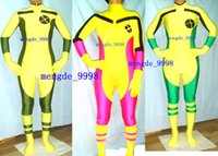 Sexy Rogue X- Men Body Suit 3 Color Lycra Spandex Rogue Suit ...