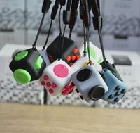 2017 Magic Fidget Cube With Rope Anti- anxiety Decompression ...