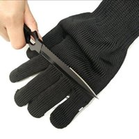 Working Protective Cut Proof Gloves Steel Wire Made Cut Resi...