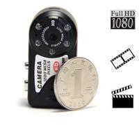 كاميرا مصغرة CMOS 1080p T8000 HD 1080p بيكسل كاميرا للرؤية الليلية كاميرا ميرو حالة المعادن كاميرا DVR T8000 / Q5 مصغرة DVR