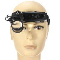 5/8/20x Büyüteç Kulaklık LED Işık Kafa Büyüteç Büyüteç Okuma İzle Onarım Büyüteç Için 8 Lens Aracı