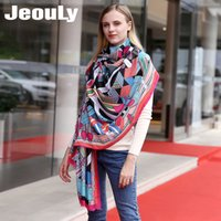 JEOULY Brand Winter Ladie New Scarves For Women Long Scarf F...