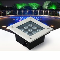 led underground lights square inground deck wall garden path buried floor stair landscape lamps 3w 4w 5w 6w 9w 12w 16w 24w 36w