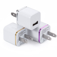 Universal 2.1a plugue usb carregador de parede usb adaptador de energia ac para ipad mini air ipod iphone 5 5s 6 plus 7 para samsung htc