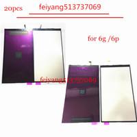 """20pcs 100% originale 4.7 """"per iphone 6 6 plus 5.5"""" retroilluminazione display LCD retroilluminazione pellicola di ricambio"""