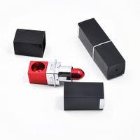 Sprzedaż hurtowa hurtowa skrywa metalowa rura palenia Rury magiczna szminka przenośne czyszczenie Porady filtrów akcesoriów Mix Color