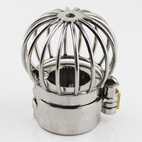 NEW Stealth Lock Design Scrotum Pendant Stainless Steel Ball...