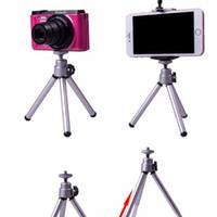 Hafif Alüminyum Dijital Kamera Adaptörü Tripod Braketi Standı Tutucu Dağı Monopod Ile 360 Derece Streç Destek Cep Telefonu