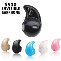 Super Mini Stereo Invisible Bluetooth Earphone S530 In- Ear W...