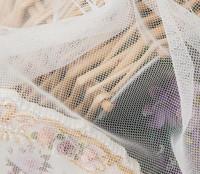 تول رخيصة لفستان الزفاف وأي قطعة قماش مدى الحياة لمرة واحدة وشاح تول لينة