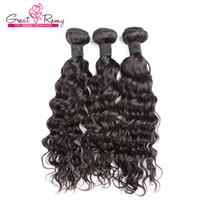 Nieuwe Collectie Losse Krullend Wave Menselijk Haar Bundels 8-34 Inch Gratis Verzending Greatremy Braziliaanse Virgin Hair Extensions
