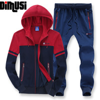 Wholesale-8XL New Mens Casual Hooded Sweatshirts Male Loose Fit Heavy Active Suit Men Brand Sportswear Man Leisure Tracksuit Sets,YA423