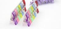 Le clip d'emballage remplacent la boîte de tissu de pâte d'aiguille de perle pour la pince / hache en plastique de papeterie