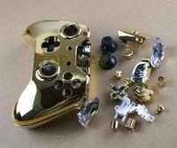 Jenerik Metal Kaplama Koruyucu Kılıf Kapak Cilt Kabuk Xbox one xboxone Oyun Konsolu Denetleyicisi Için kılıf