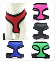 5 colors high quality Soft Air mesh Dog Harness Puppy Pet Ha...