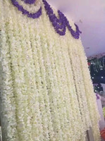 79inch 2 Meter Long Elegant Artificial Silk Flower Wisteria ...