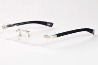 2020 nuovi occhiali da sole di moda corno di bufalo per gli uomini in legno a più di occhiali da vista di colore quadrati occhiali senza montatura lenti da sole chiari lunettes gafas