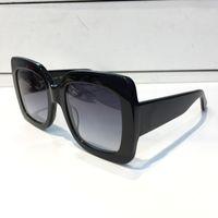 0083 Mujeres populares Moda Gafas de sol Plaza Estilo de verano Marco completo Calidad Protección UV 0083S Gafas de sol Color mezclado Ven con caja