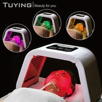 TM- LM004 4 LED Light Facial Mask PDT panel photon THERAPY ph...