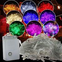 LED String Lights with Controller 220V and 110V Colorful RGB...