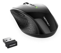 TeckNet Alpha Ergonomic Wireless Mouse 2. 4GHz Optical Mobile...