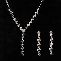 2017 цене производителя Австрия Кристалл серьги ожерелье ювелирные наборы женщин ювелирные изделия набор для свадьба вечеринку подарок