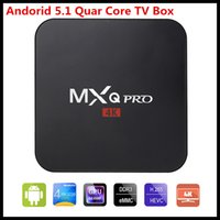 Factory Supply MXQ Pro Android 6. 0 Smart TV Box Quad Core Ro...