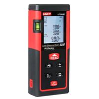 Compteur laser 40M de niveau à bulle Télémètre Range Range / mètre Mesure de la distance