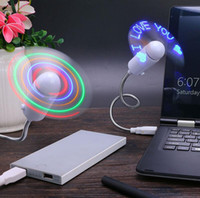 Portable Mini Bendable Flexible USB Fan Computer Notebook PC...