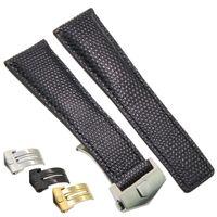 Bracelet montre en cuir véritable avec points noirs, femmes, montres, bande, avec boucle