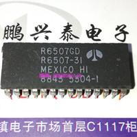 R6507GD. R6507-31, R6507P. Microprocesador R6507-11 / R6507-15 / 8-bit, doble circuito integrado en línea de 28 pines, circuito integrado, R6507 PDIP28