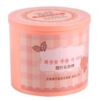 الجملة - 200PCS القطن منصات الوجه مزيل طلاء الأظافر ماكياج التجميل مسح جولة مربع الوردي