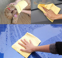 car towel cleaning cloth Compressed PVA Chamois Magic Towel ...