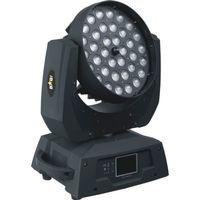 Envío gratis Guangzhou Etapa de iluminación CE DMX Zoom RGBAW 36x15W 5in1 LED Wash luz principal móvil