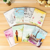 A4 Size Spiral Sketch Pad Notebook With Blank Paper - 50 She...