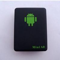 Mini Global A8 GSM / GPRS / GPS Tracker Locator Echtzeit Auto Kinder Tracking USB-Kabel mit schönen Retail-Box