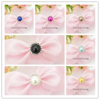 13 Colors You Pick- - 50pcs Pearl Brads Paper Fastener for Scr...