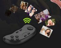 Sıcak Oyunlar Aksesuarları Orijinal Bluetooth Uzaktan Kumanda VR Shinecon Kablosuz Gamepad Fare Müzik Özçekim iOS Android PC TV için 3D Oyunlar