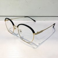 5255 Fashion Luxury Brand Glasses Oval Shape Retro Vintage M...