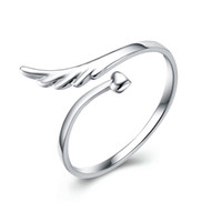 Handmade style adjustable cuff s925 sterling silver feather ...