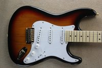 OEM free shipping new Top quality ST Guitar In vintage SUNSE...