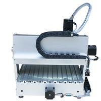 Marque nouvelle Aman 4 axe 3040 800 W min cnc métal bois or plastiques pvc machine de gravure