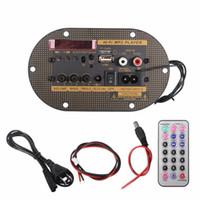 Freeshipping 220 V / 12 V / 24 V Araba Bluetooth Subwoofer Hi-Fi Bas Amplifikatör Kurulu Ses TF USB Güçlü Şok