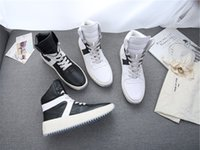 Ohne Box Größe 34-46 2017 Fear of God Leder Saison 5 Military Sneaker STIEFEL Fog Made In Italy Hoch geschnittene Stiefel