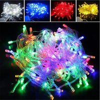 Christmas LED String Light 100pcs 9 colors 10M 100LED Xmas L...