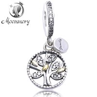Family Heritage Silver Hanging Charm featuring an openwork t...